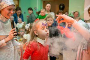 новый год 2018, праздник для детей на Новый год