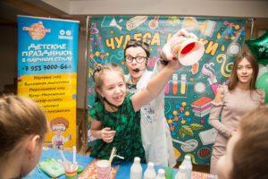 лизуны, мастер-класс для детей на день рождения, аниматоры Тамбов, изюм праздники