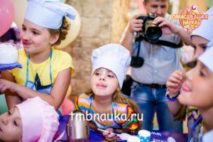 праздник для детей, крио-мороженое