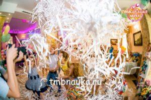 Бумажное шоу в Тамбове на детский день рождения