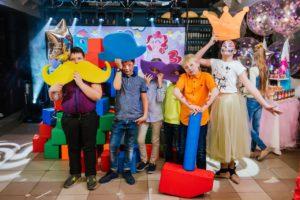 поролоновое шоу, аниматоры тамбов, сумасшедшая наука, детский день рождения в Тамбове